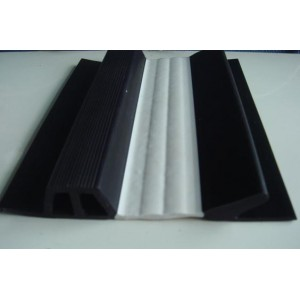 Two colors co-extrusion profile